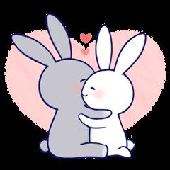 Lovey-dovey rabbit (English) -...