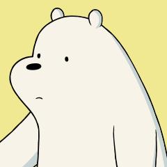 we bare bears moji line stickers line store
