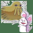 ハツカネズミのハッカル3