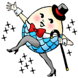 Ephemeral dancer Tamago-san