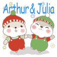 Prince Arthur & Princess Julia 9-WINTER