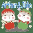 アーサー王子とジュリア姫9-日常会話(冬)