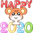 Happy New Year - Mouse 2020
