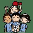 我が子のサッカー!