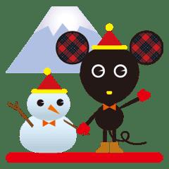 Xmas&お正月♥️冬のCHU-CHU♥️