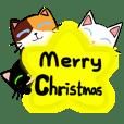 貓咪們的聖誕節