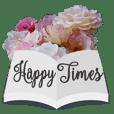Flowers Book Greeting