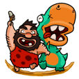 Cave Duo's Prehistoric Fun