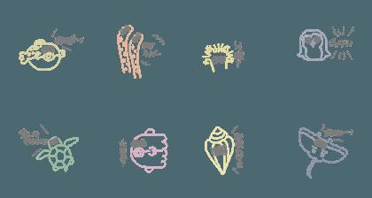 ゆる〜い海の生き物2