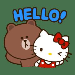 LINE FRIENDS & HELLO KITTY第二彈