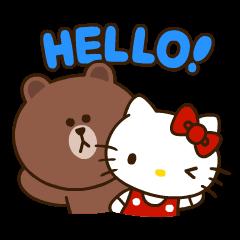 LINE FRIENDS & HELLO KITTY vol.2
