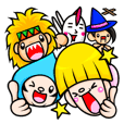 Pokkun and Pleasant friends