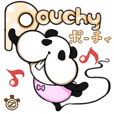 [Pouchy] -cheek panda-