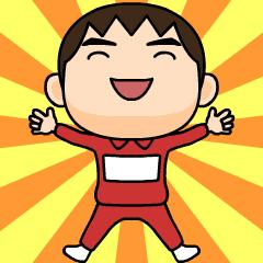 nanashi wears training suit 11.
