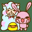 UsaHiyo and mofumofusan