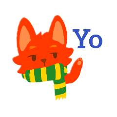 Scarfed Fox