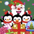 小企鹅吉吉-狂欢圣诞