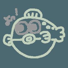 ゆる〜い魚