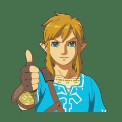 The Legend of Zelda: Breath of the Wild – LINE Stickers | LINE STORE