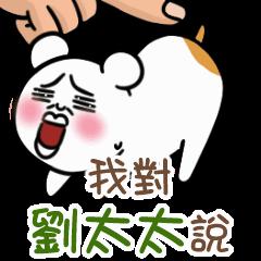 可愛的小倉鼠來囉~對劉太太 說!