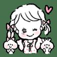 Girly Girls Sticker