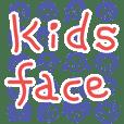 Kids face