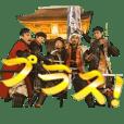 FUKUOKA KURODA BUSYOUTAI PLUS Sticker