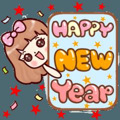 Lisa New Year Christmas and all seasons