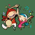 Eisa-kun & Mo-rechan