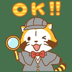 謎樣小浣熊☆ 敬語貼圖
