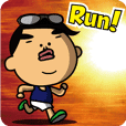 The running boy