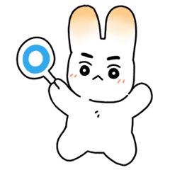 Cute Rabbit Beige