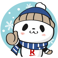 Okaimono Panda (Winter Ver.)
