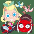 Angel & Devil girls