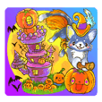 Nia's Halloween,Party Japanese version