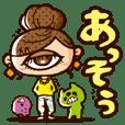 "Instability Monster ""HITOTSUMEKO"""