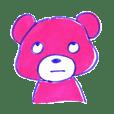 ピンクマはおしゃべりなピンク色のクマ