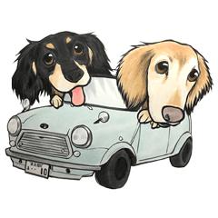 little10cars Sticker