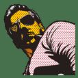 ダバング〝 男気〟スタンプ