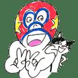 mask man&my cat,Joyful Days