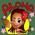 ハワイ大好き!サーファーガール