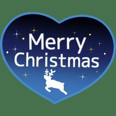 クリスマスとお正月に使える冬スタンプ♪