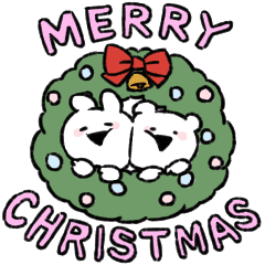 Extremely Little Rabbit& bear -Xmas-