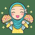 Flower Hijab 2