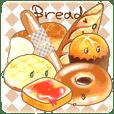 パン、おいしく焼けました