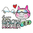 Koyunyan's sticker for snow rider