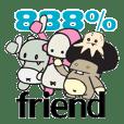 888%Friends