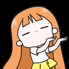 Weird Orange Girl 2