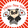 Petit Pug 2020 New Year