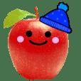 りんご さん 冬バージョン